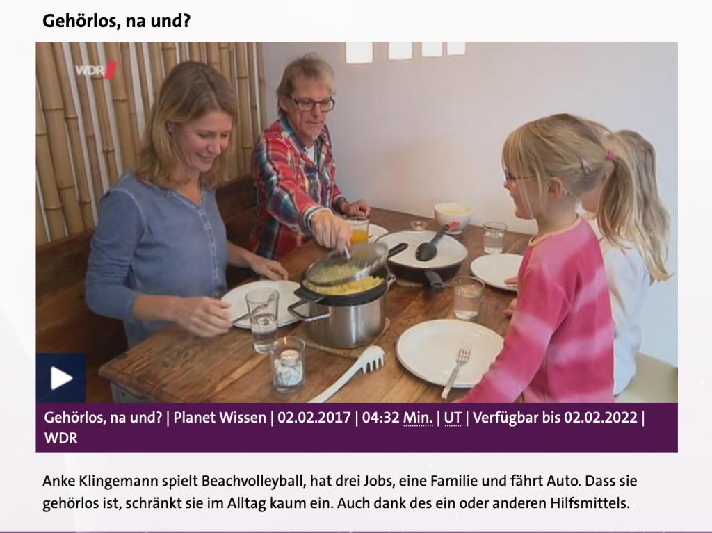 Screenshot Website Planet Wissen WDR